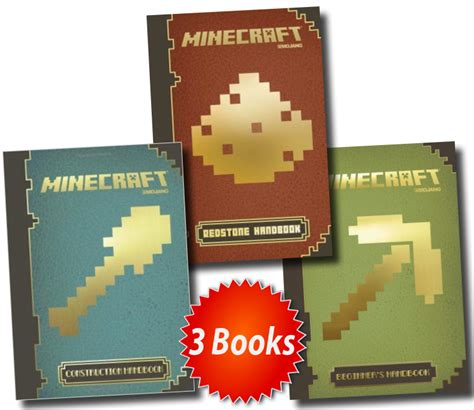 minecraft picture books minecraft 3 books collection set the official annual 2014