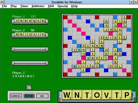 scrabble for windows scrabble for windows 1992 strategy