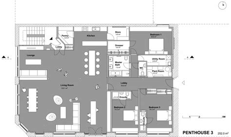 House Plans With Separate Apartment east london penthouse by sirs homedsgn