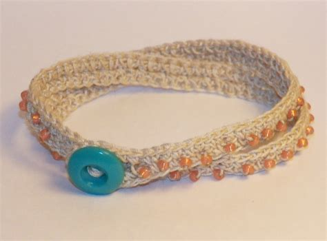 crochet beaded bracelet pattern don t eat the paste crochet beaded wrap bracelet pattern