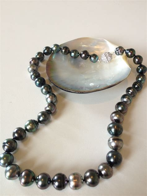 pearl jewelry tahitian black pearl necklace the pearl southern