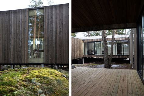 Home Design Building Blocks beautiful wooden home in norway is built around forest
