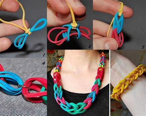 rubber band crafts for rubber band craft ideas
