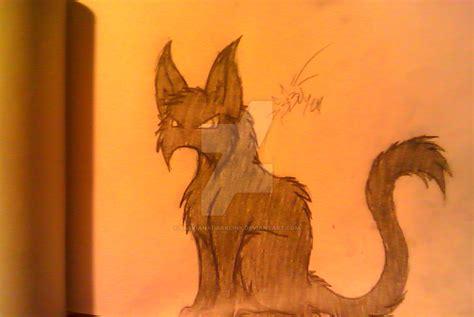evil cat painting evil cat by saskianadarklink on deviantart