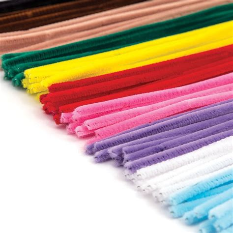 pipe cleaners and assorted pipe cleaners 100 pack hobbycraft