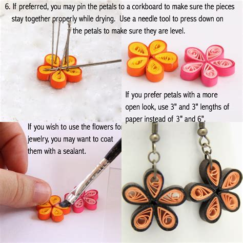 how to make paper jewelry make your own paper quilled earrings honey s quilling