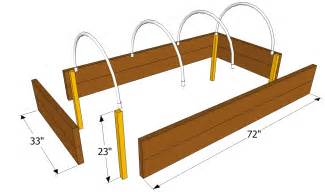 Build A Raised Planter Box by Raised Garden Bed Building Plans Cold Frame Plans