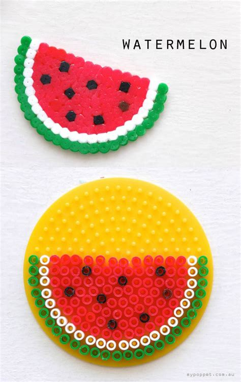 watermelon perler crafts that used to be popular oversixty