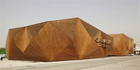 wooden canada geometric architecture is a work of modern