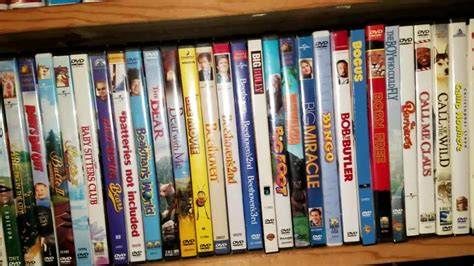 the entire 2017 dvd vhs collection