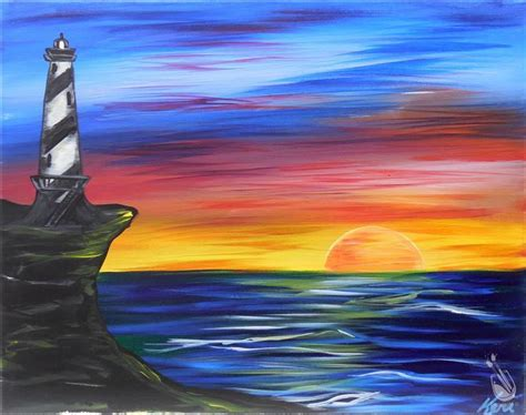 paint with a twist clermont cliffside lighthouse sunday november 13 2016
