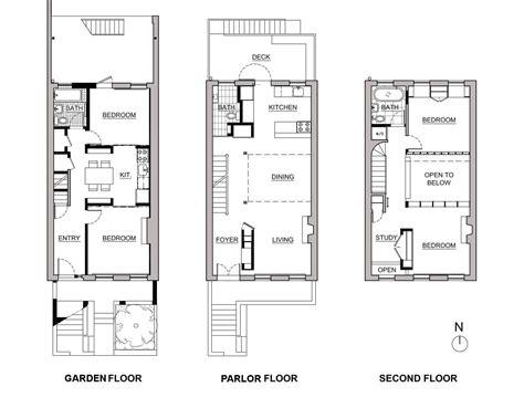 row house floor plans brownstone row house floor plans