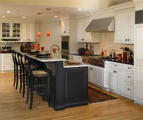 white kitchen cabinets with island white kitchen cabinets black island