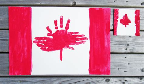 canada crafts for make these adorable handprint placemats for canada day