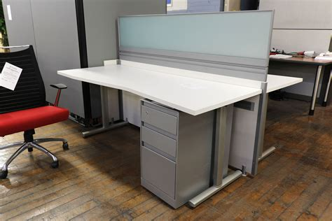 arctic office furniture arctic white 2 user open plan workstation peartree