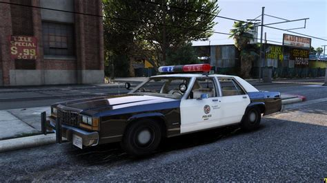 1980s Car by 1980s Lapd Car Duo Gta5 Mods