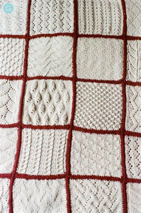 Knitted Blanket In Every Style Q Wedding