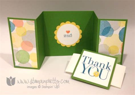 thank you card ideas simple z fold thank you card stin pretty