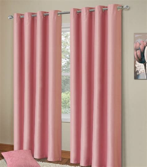 pink blackout curtains for nursery plain baby pink colour thermal blackout bedroom livingroom