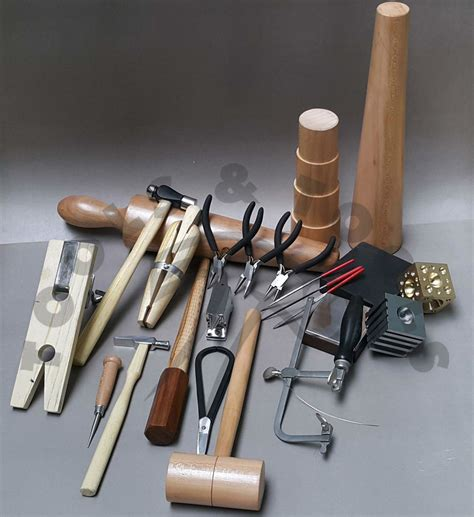 tools for metal jewelry metalsmith tools kit beginners apprentice metalsmithing