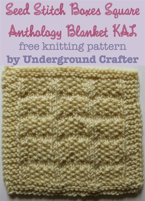 knitting box free knitting pattern anthology blanket 2016 sler