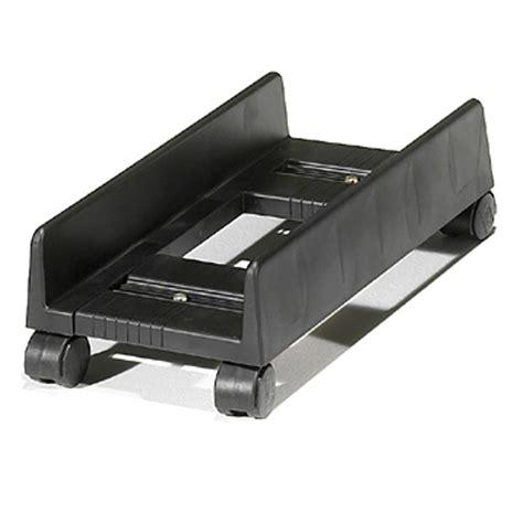 computer stand for desk slim desktop cpu stand holder computer tower cart