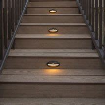 Solar Deck Lights For Steps by Solar Deck Lights Stair Recessed Riser Led Light By Trex