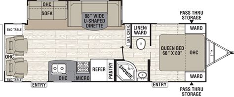 two bedroom rv floor plans new or used fifth wheel cers for inspirations and two