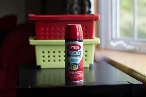 spray paint resin spray paint plastic bins i planners