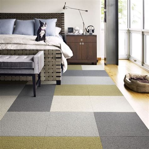 carpet squares for rooms heaven sent contemporary bedroom chicago by flor