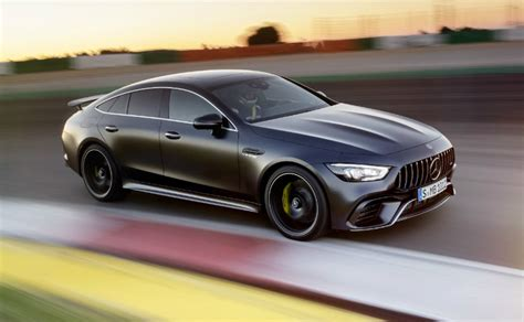 Mercedes Gt Coupe by Geneva 2018 Mercedes Amg Gt 4 Door Coupe Breaks Cover