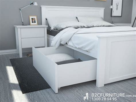 bed frame white best 25 bed frame with drawers ideas on bed