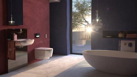 bathroom technology geberit s next level bathroom technology on show at