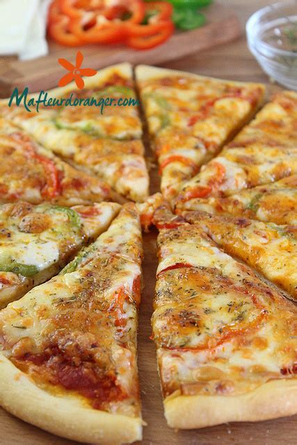 pizza fait maison p 226 te 224 pizza facile cuisine marocaine orientale ma fleur d