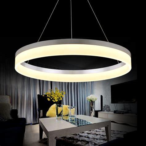 led chandelier lighting modern led ring chandelier light arcylic led chandelier