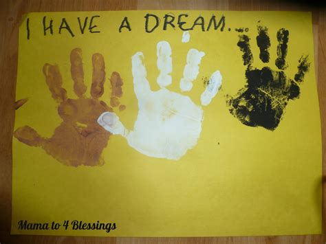 mlk crafts for martin luther king jr lapbook craft to 6 blessings
