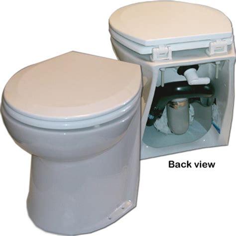Jabsco Deluxe Toilet by Jabsco Deluxe Flush Angled Back 12v Toilet 58020 1012