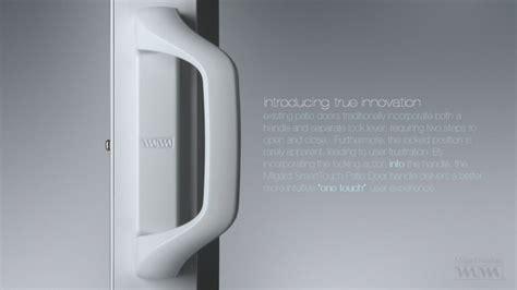 milgard smarttouch patio door handle milgard smarttouch sliding glass door handle by tim