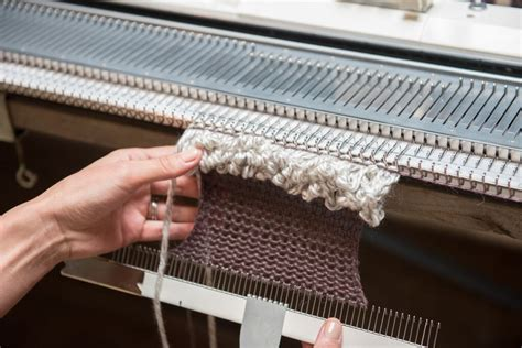 which knitting machine machine knitting efficiency quality denada