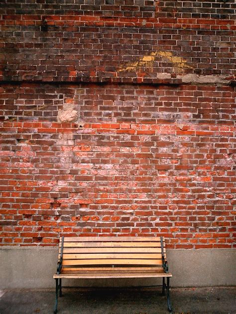 brick wall following the blind through the brick wall the