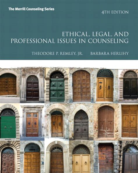ethical and professional issues in counseling 5th edition remley herlihy ethical and professional issues