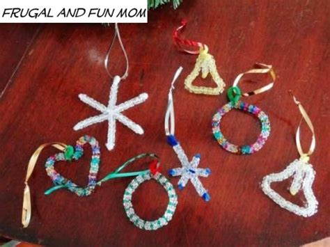 pipe cleaner bead ornaments ornaments with a and