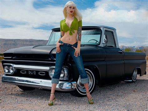Classic Car And Truck Wallpapers by Classic Cars And Trucks Wallpaper 4 G