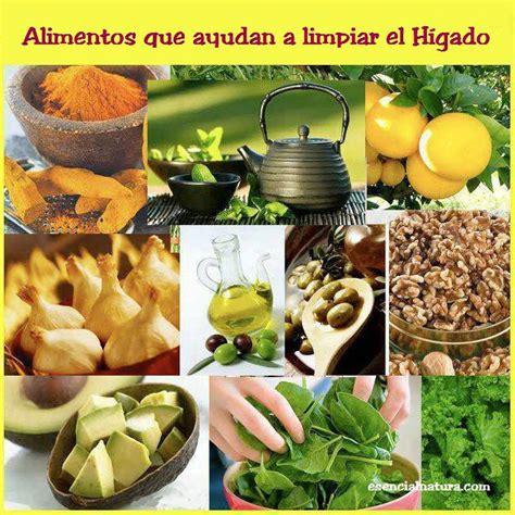 alimentos que da an el higado alimentos que ayudan a limpiar el higado