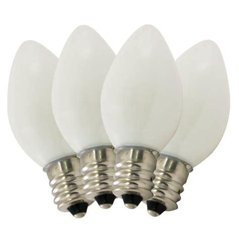 c7 ceramic replacement bulbs ceramic white c7 stringlight bulbs 4 pack
