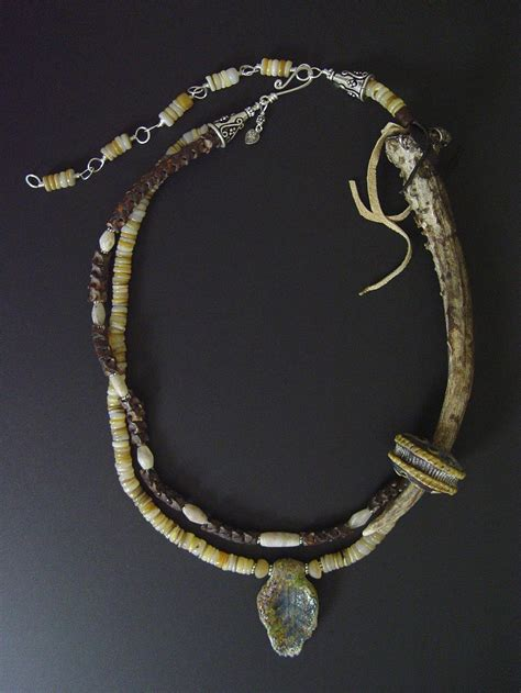 how to make antler jewelry antler necklace virgo moon one of a handmade