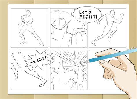 how to make a comic 3 ways to draw comic book wikihow