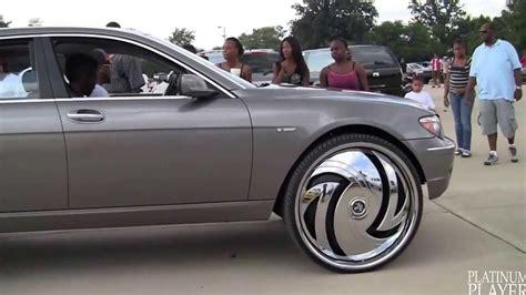 Bmw 750li Rims by Bmw 750li On 30 Inch Rims Detroit 720p Hd