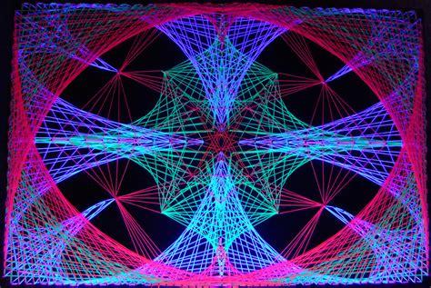 black light string multidim blacklight stringart by string on deviantart