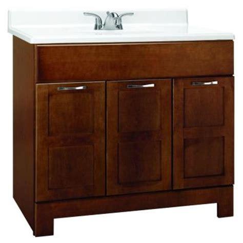 home depot bathroom vanity 36 glacier bay casual 36 in w x 21 in d x 33 5 in h vanity